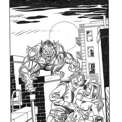werewolf par Gil Kane