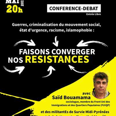 Conférence-Débat : Faisons converger nos résistances