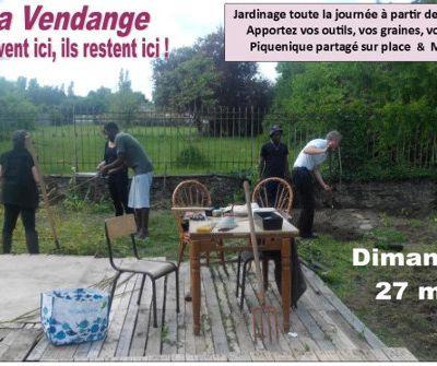Journée citoyenne de solidarité à la Vendange le dimanche 27 mai