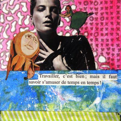 cartes collage