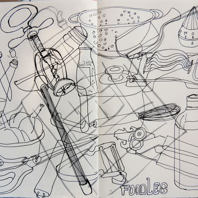 dessiner ou cuisiner - to draw or to cook that's the question