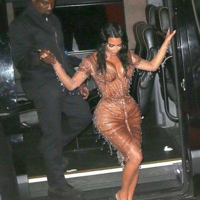 tout  sur la robe de kim kardashian