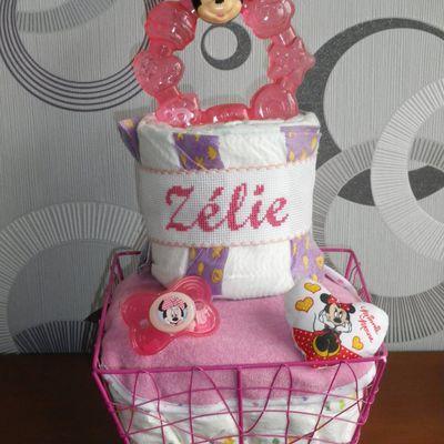 """Gâteau de couches """"Zélie"""""""