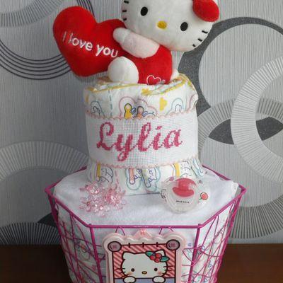 """Gâteau de couches """"Lylia"""""""