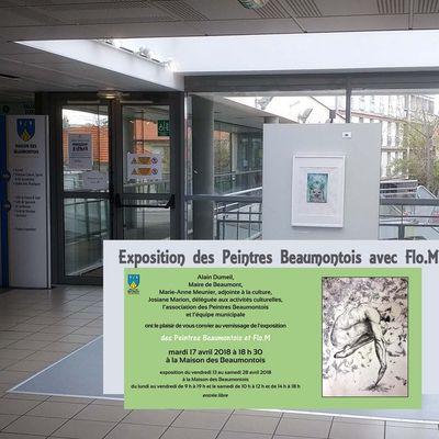 Les Peintres Beaumontois & Flo.M - Une belle histoire !