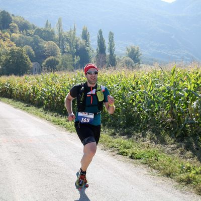 Patrice au trail d'Hostun !