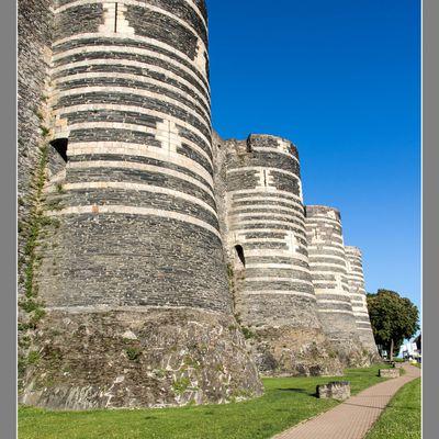 Visite au château d'Angers
