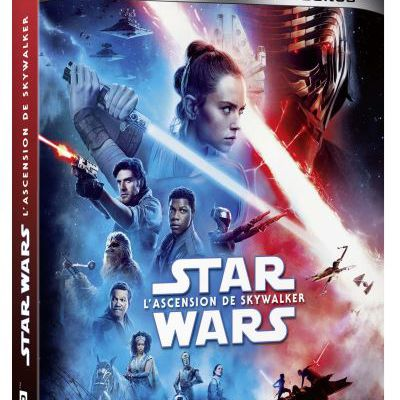 Star Wars Episode IX L'ascension de Skywalker est disponible en DVD & Blu-Ray