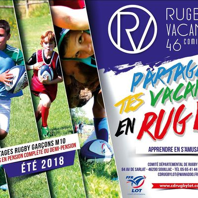 RUGBY VACANCE 2018