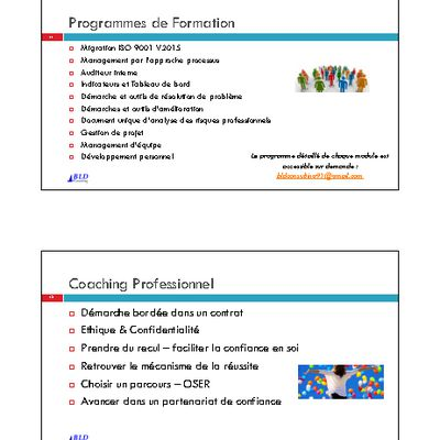 Conseil & Formations & Coaching