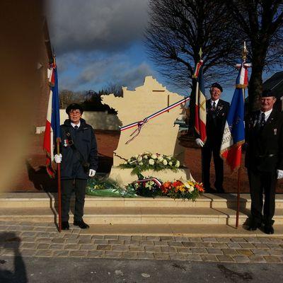 Inauguration de la Stèle en hommage au MARÉCHAL LECLERC DE HAUTECLOCQUE.