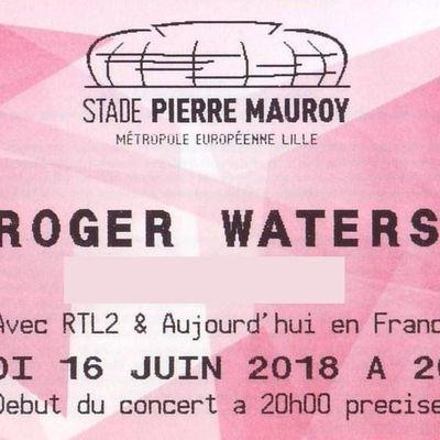 Roger WATERS au stade P Mauroy le 16 juin