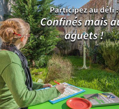 """Défi nature """"Confinés mais aux aguets !"""""""