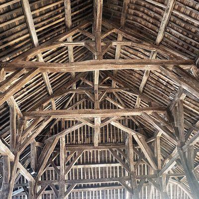 La vieille belle halle de Questembert
