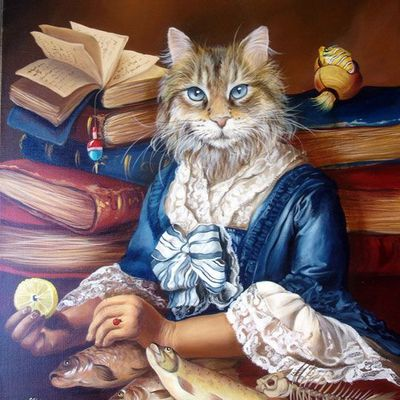 Images chats livres