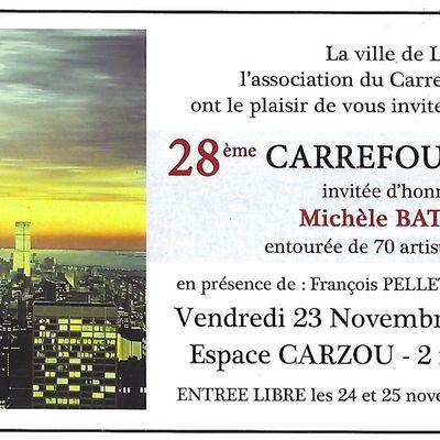 Ne manquez pas le prochain Carrefour des Arts de Linas !!