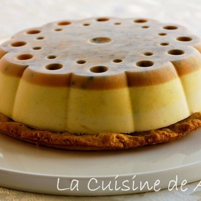 LE CHEESE CAKE PASSION SANS CUISSON