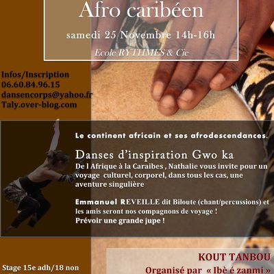 STAGE AFRO CARIBEEN / KOUT TANBOU