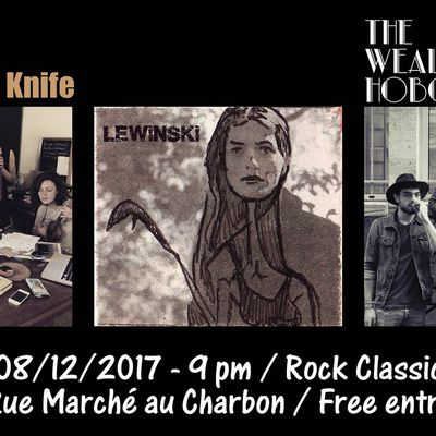 ▶ Videos - The Wealthy Hobos (FR) - Lewinski - Kevin has a knife @ Rock Classic - 08/12/2017