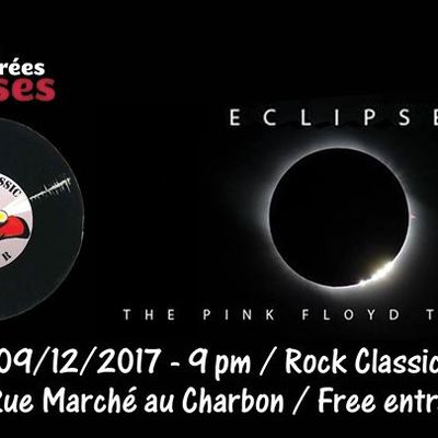 ▶ Video - Eclipse (Pink Floyd tribute band) @ Rock Classic - 09/12/2017 -