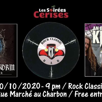🎵 Desert Storm (UK) + An Evening with knives (NL) @ Rock Classic - 30/10/2020 - 21h00 - Entrée gratuite !