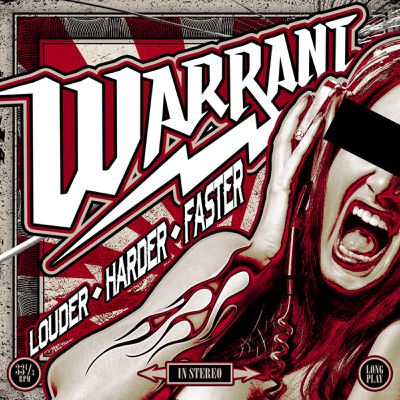"""CD review WARRANT """"Louder Harder Faster """""""
