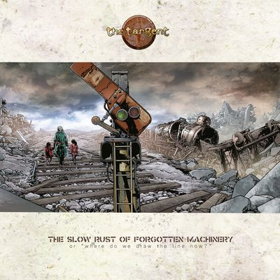 "CD review THE TANGENT ""The Slow Rust of Forgotten Machinery"""