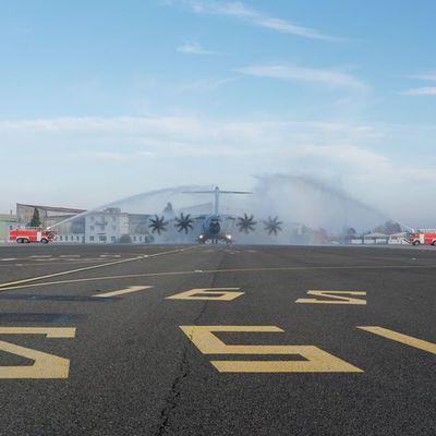 L'armée de l'Air accueille son seizième A400M