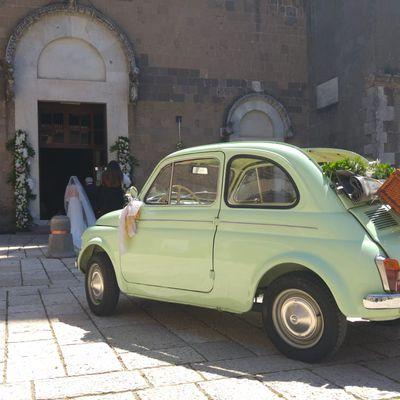 Noleggio Auto Cerimonie Special Rent FIAT 500 CABRIO www.Specialrent.It Napoli Vomero