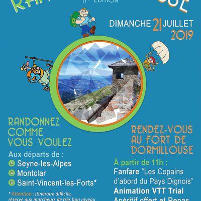 RANDORMILLOUSE-2019-rendez vous le 21 Juillet pour FETER LE FORT de RANDORMILLOUSE