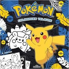 Pokémon : coloriages velours, Les livres du Dragon D'Or, 2019