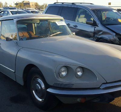 USA - CITROEN DS21 FOR SALE - 2,806 MILES ... WOW !
