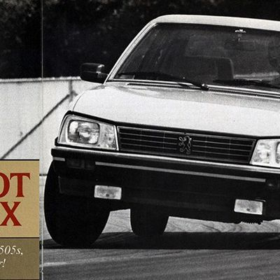 USA - 1987 PEUGEOT 505 STX VINTAGE ROAD TEST