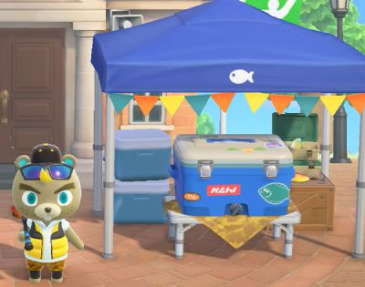 Animal Crossing New Horizons : Le tournoi de pêche