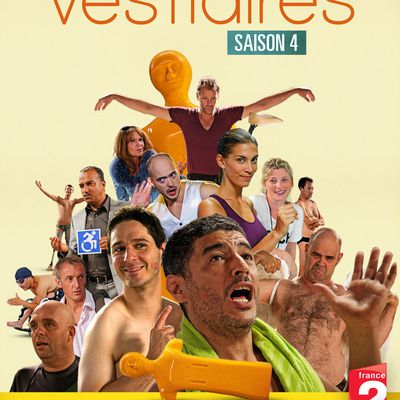 "artwork DVD  ""Vestiaires"" saison 4"