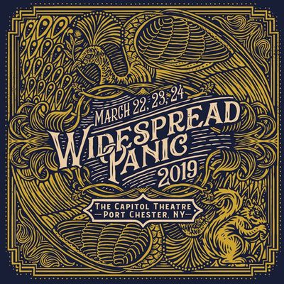 WIDESPREAD PANIC-Port Chester 24/03/2019