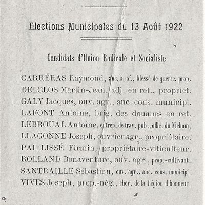 Elections 1925...1989