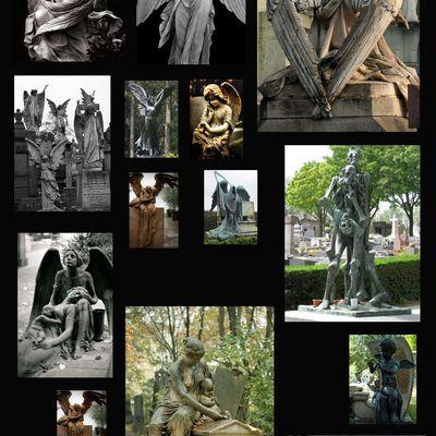 425 - Anges de cimetières