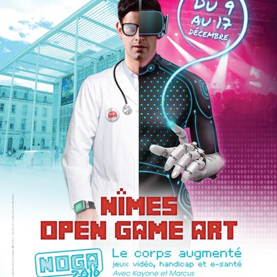 ACTUALITE : Le grand succès du premier week end du festival NIMES OPEN GAME ART!