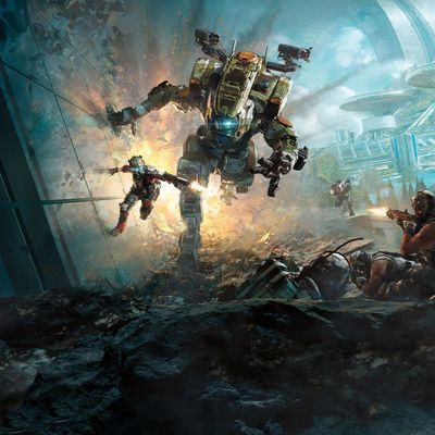 30 DAY VIDEO GAME CHALLENGE : Jour 14 Le fond d'écran gaming actuel, TITANFALL 2