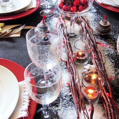 Table de Noël # 60