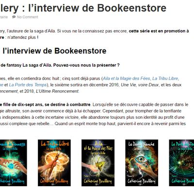 Catherine Boullery interviewée par Bookeen
