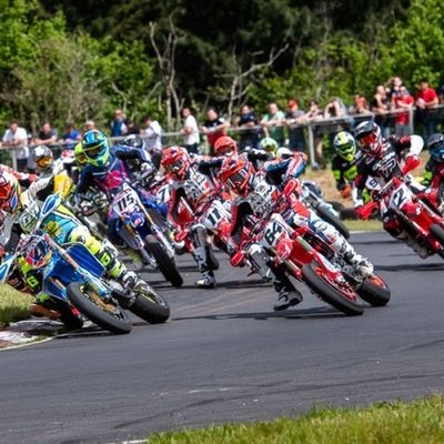 Ouverture du Championnat de France Supermotard à Escource