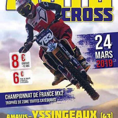 Championnat national MX2 à Yssingeaux