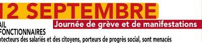 Préavis de grève pour le 12 septembre adressé à Monsieur le Maire de Bezons