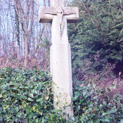 """La """"Croix des pestiférés"""" à Amance"""