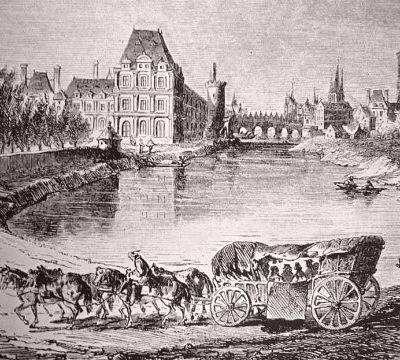 L'arrivée du curé de Vieuvy à Paris et ses impressions sur la ville