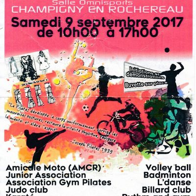 DEMANDE DE LICENCE MOTOCROSS INSCRIPTION ECOLE MOTO 2017/18 SAMEDI 9 SEPTEMBRE 2017 JOURNEE DES ASSOCIATIONS