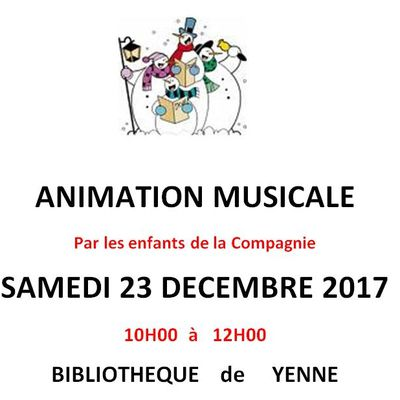 Animation d'hiver