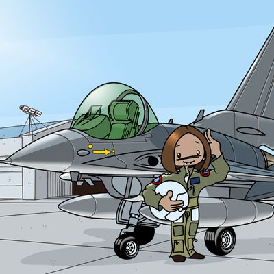 Angie, US air Force's pilot